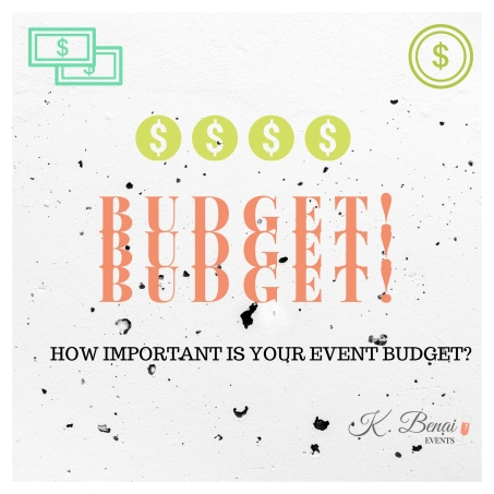 How important is your event budget-