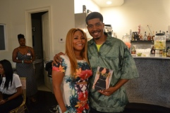 Cousin and author Omar Tyree