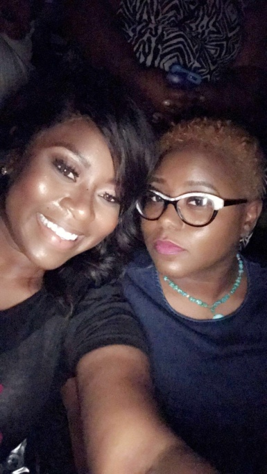 Big Sister & me at the Ladies Night Out Concert